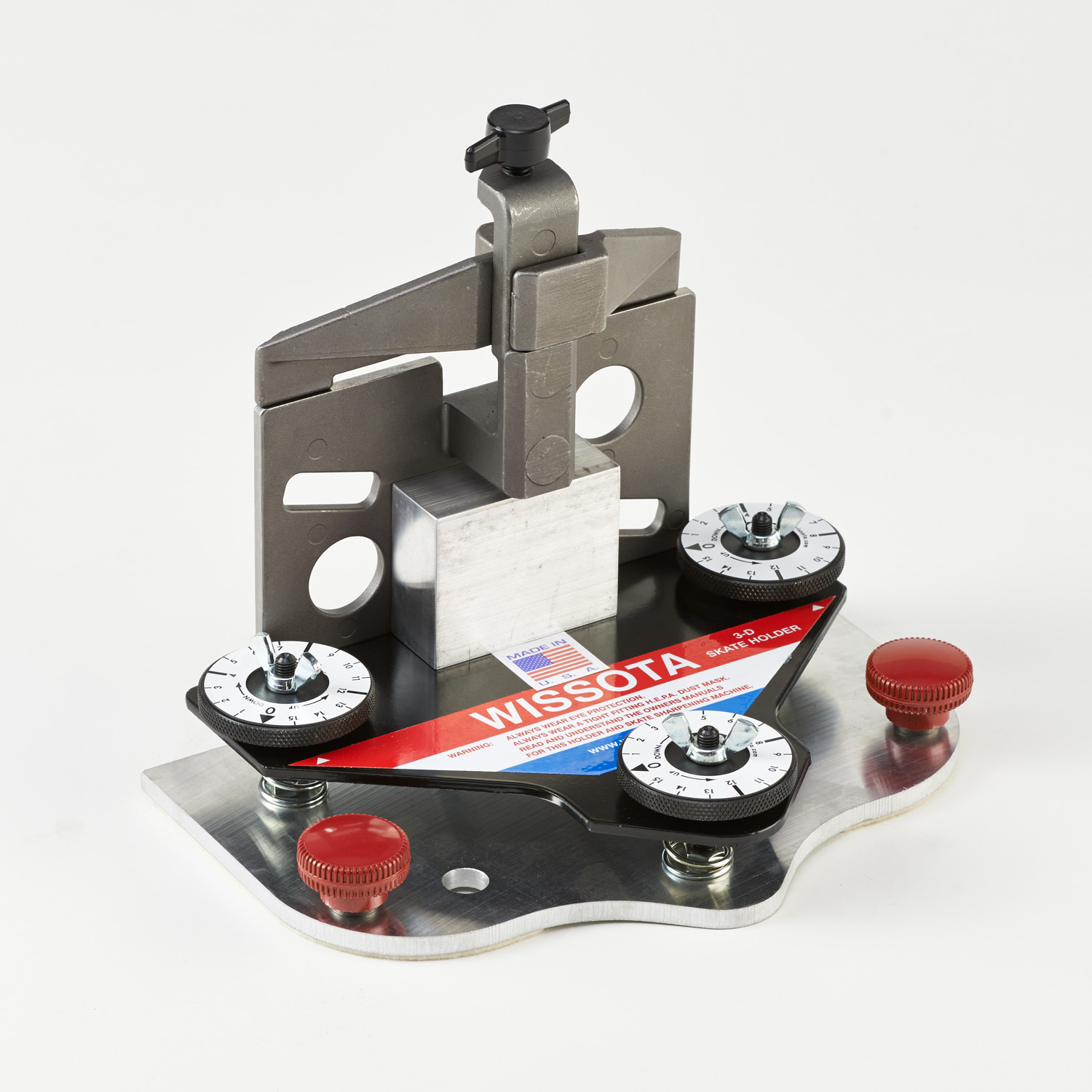 3-D Three Dial Universal Skate Holder